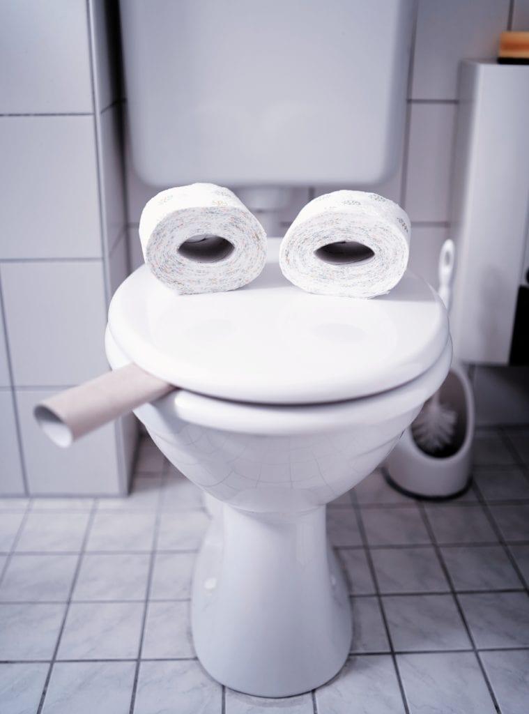 toilet face